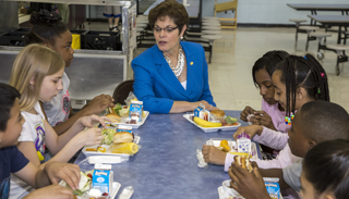 Get involved with school nutrition