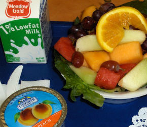 Nearly 100,000 schools/institutions serve school lunches to 30 million students each day