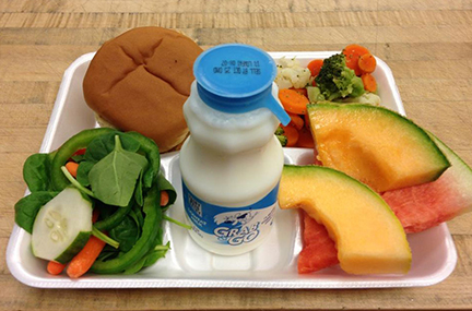 Over 100,000 schools/institutions serve school lunches to 30.6 million students each day