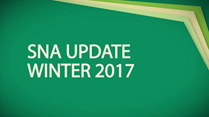 SNA Update Winter 2017