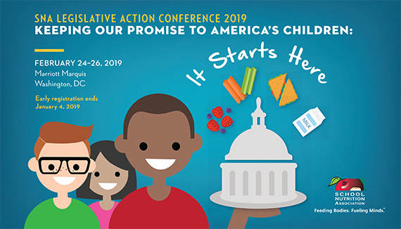 Register for SNA's 2019 Legislative Action Conference