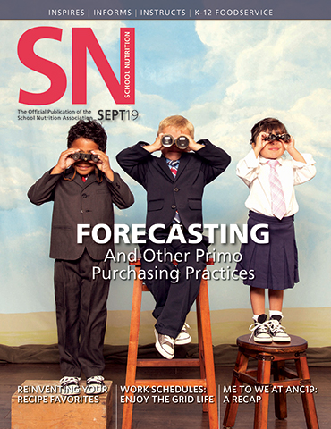 Read the September 2019 Issue of School Nutrition Magazine