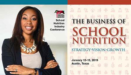 Register for SNA's 2019 School Nutrition Industry Conference (SNIC)