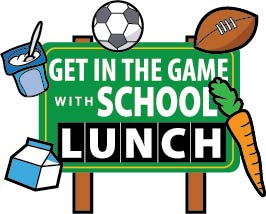 Image result for get in the game with school lunch