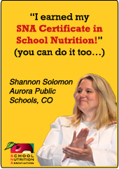 Promote the SNA Certificate Program on your state association website with these banner ads